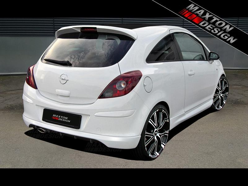 Przedłużenie Zderzaka Tylnego Opel Corsa D - GRUBYGARAGE - Sklep Tuningowy